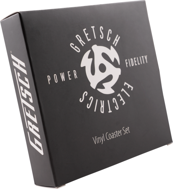 Gretsch® Power & Fidelity™ Vinyl Coaster Set