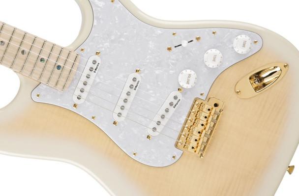 Fender Richie Kotzen Stratocaster®, Maple Fingerboard, Transparent White Burst