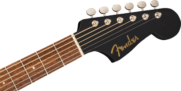 Fender Joe Strummer Campfire, Walnut Fingerboard, Matte Black