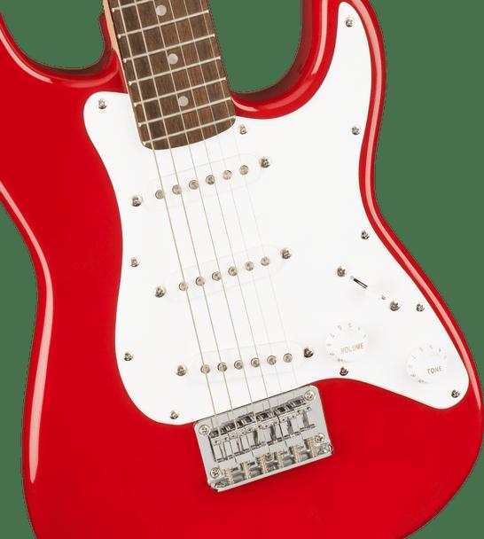 Squier Mini Stratocaster®, Laurel Fingerboard, Dakota Red