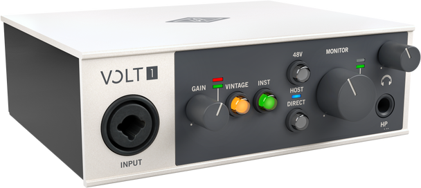 Universal Audio Volt 1 - 1 in 2 Out USB 2.0 Audio Interface