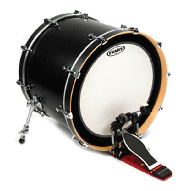 Evans EMAD Coated Bass Drum Head Batter