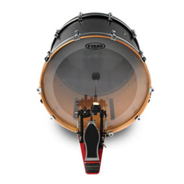 Evans EQ4 Clear Bass Drum Head Batter