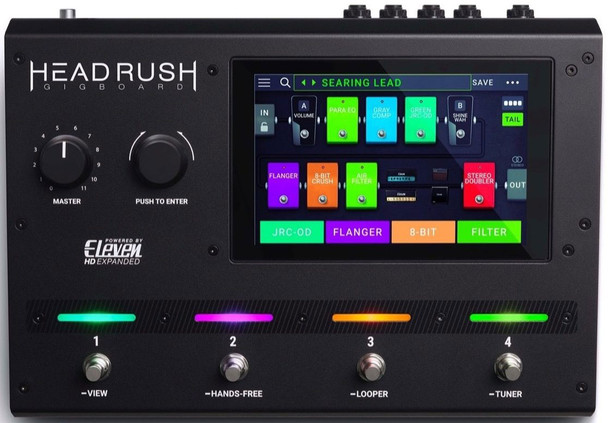 Headrush Gigboard Compact Guitar Effects Processor