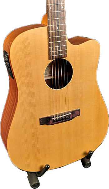 Recording King RD-A3MCE Acoustic/Electric Dreadnought Solid Spruce Top