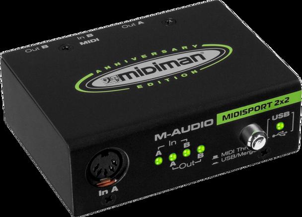 M-Audio Midisport 2x2 Anniversary Edition 2x2 USB MIDI Interface