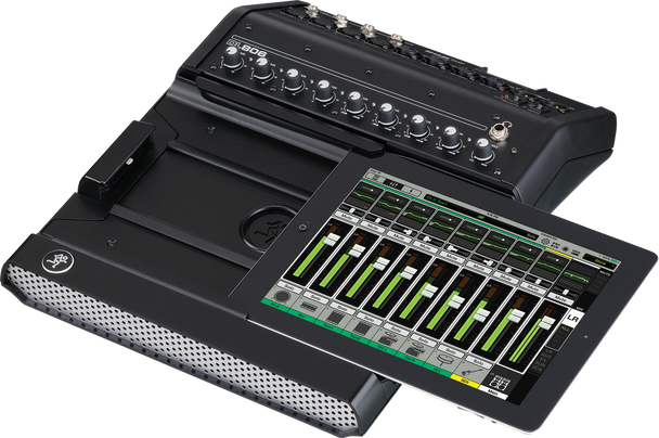Mackie DL806LT 8-Channel iPad Mixer Lightning (Secondhand)