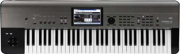 Korg Krome EX 61-Key Synthesizer Workstation (with free Gig Bag)