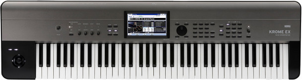 Korg Krome EX 73-Key Synthesizer Workstation (with free Gig Bag)