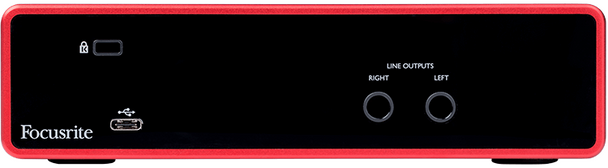 Focusrite Scarlett 2i2 3rd Gen 2-in/2-out USB Audio Interface