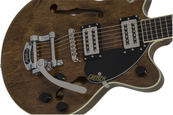 G2655T Streamliner™ Center Block Jr. with Bigsby®, Laurel Fingerboard, Broad'Tron™ BT-2S Pickups, Imperial Stain