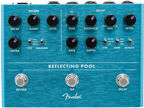 REFLECTING POOL DELAY & REVERB