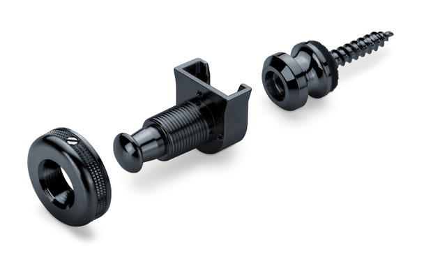 Schaller S-Lock Strap Locks Black