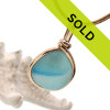 Sorry this beautiful sea glass necklace has sold!