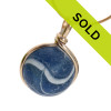 Sorry this rare sea glass marble has been sold!