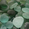 Our Original Wire Bezel is PERFECT for this English sea glass. Aqua Blue is one of the most desirable sea glass colors!