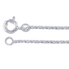 This pendant comes with this FREE sterling plated rope chain but you can upgrade to a solid sterling chain like the snake chain shown with the pendant.