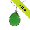 Sorry this green sea glass pendant has sold!