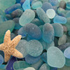 Matching these sea glass pieces can be daunting and almost impossible as each piece is one of a kind!