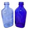 Light blue glass predates the darker cobalt blue and is much rarer.