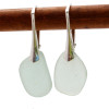 A simple pair of sea glass earrings for any time of year!