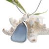 A stunning smaller pendant in a rare found sea glass color