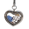 This heart is reversible with filigree on one side and plain on the other. A great beachy gift for anyone!