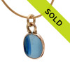 Sorry this sea glass charm has been sold!