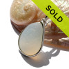 Sorry this one of a kind Ultra Rare sea glass pendant has been sold!