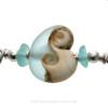 A detail of this EXACT Sea Glass Bangle Bracelet