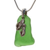 Simple and timeless sea glass jewelry with a beach loving charm.