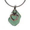 A great sea glass necklace for any sea glass lover!