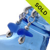 SOLD - Sorry this  Rare Sea Glass Earrings are NO LONGER AVAILABLE!!