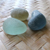 Large and very thick sea glass pieces from Seaham England great for display!