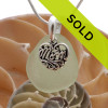 Sorry this sea glass necklace for mom has been sold!