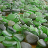 We meticulously sort though hundreds of pieces of beach found sea glass to find one pair that is similar in shape, size and hue!