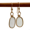 These are the EXACT sea glass earrings you will receive!