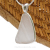 A special piece of sea glass supplied from the customer to be made into a gift!