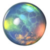 Opals are hard to photograph as they change color depending on the light source.
