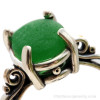 A stunning green color that is uncommon.