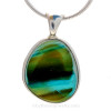 Stunning and the one of a kind sea glass jewelry piece!