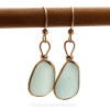 AVAILABLE - This is the EXACT pair of Sea Glass Earrings you will receive!