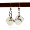 A great pair of sea glass earrings for any time of year!
