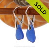 Simple and elegant these genuine blue sea glass earrings are bound to get you compliments! Sorry this Sea Glass Jewelry selection is NO LONGER AVAILABLE!