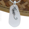 A great Genuine Sea Glass Necklace for any beach lover!
