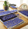 Perfect Blue Genuine Caribbean Sea Glass Earrings In Gold Original Wire Bezel©