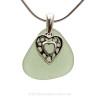 A great Genuine Sea Glass Necklace for any beach lover.