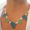 Modeled necklace