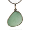 This is a great setting that leaves the sea glass piece TOTALLY UNALTERED from the way it was found on the beach in Puerto Rico.