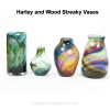 Examples of Hartley and Wood Streaky Glass Circa 1880. A possible source for this Amazing Sea Glass.